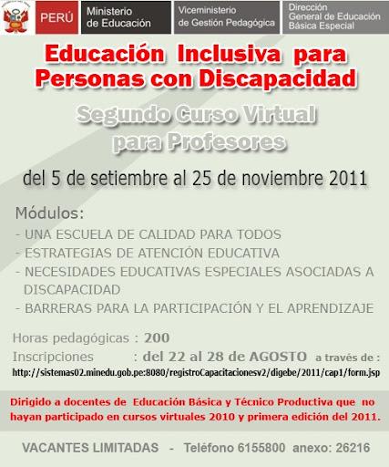 Educación: Curso sobre Educación Inclusiva y atención a la ...