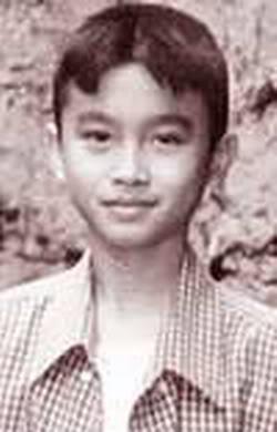 masa kecil pria tercantik