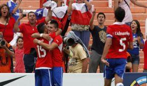 Goles Chile Colombia [1 - 0] resultado Sub20 30 Enero