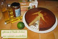 gâteau à l'huile d'olive aux saveurs ensoleillées - recette indexée dans les Desserts