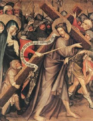 Weep not for Me, O Daughters of Jerusalem, by Master Thomas de Coloswar (1427)
