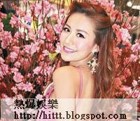 江若琳穿露背裝現身。