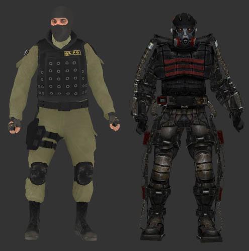 Exoskeleton Stalker And Counter Terrorist In Killing Floor
