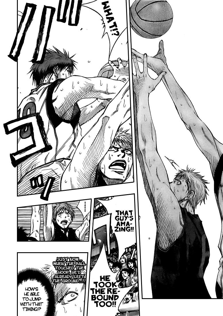 Kuroko no Basket Manga Chapter 123 - Image 10