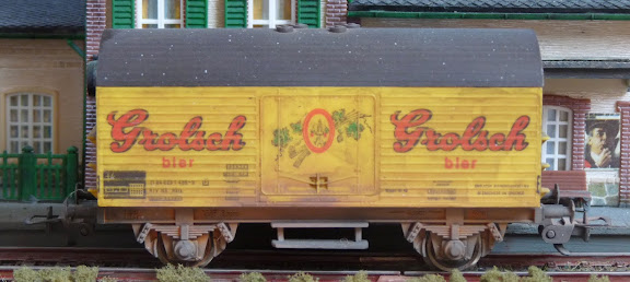 Fleischmann 5045: Bierwagen Grolsch