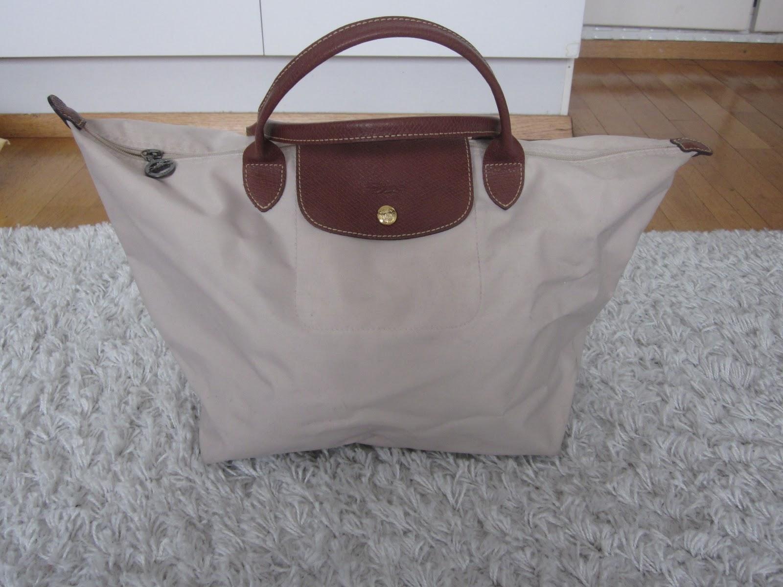 Longchamp vaalean beigenä. 5faa40ac10