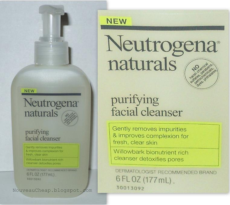 Neutrogena Naturals Purifying Facial Cleanser Review
