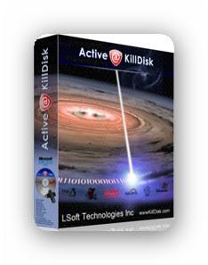 Active KillDisk Professional Suite 7.5.1 - Elimina los datos de una unidad