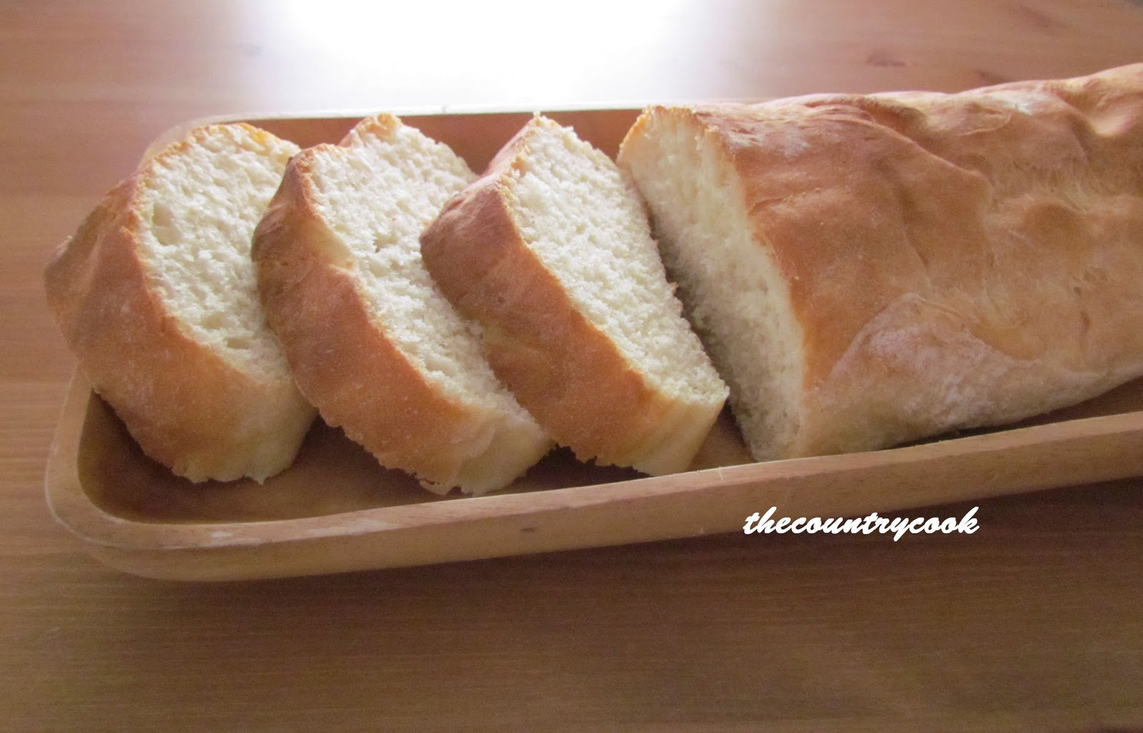 Easy French Bread - The Country Cook