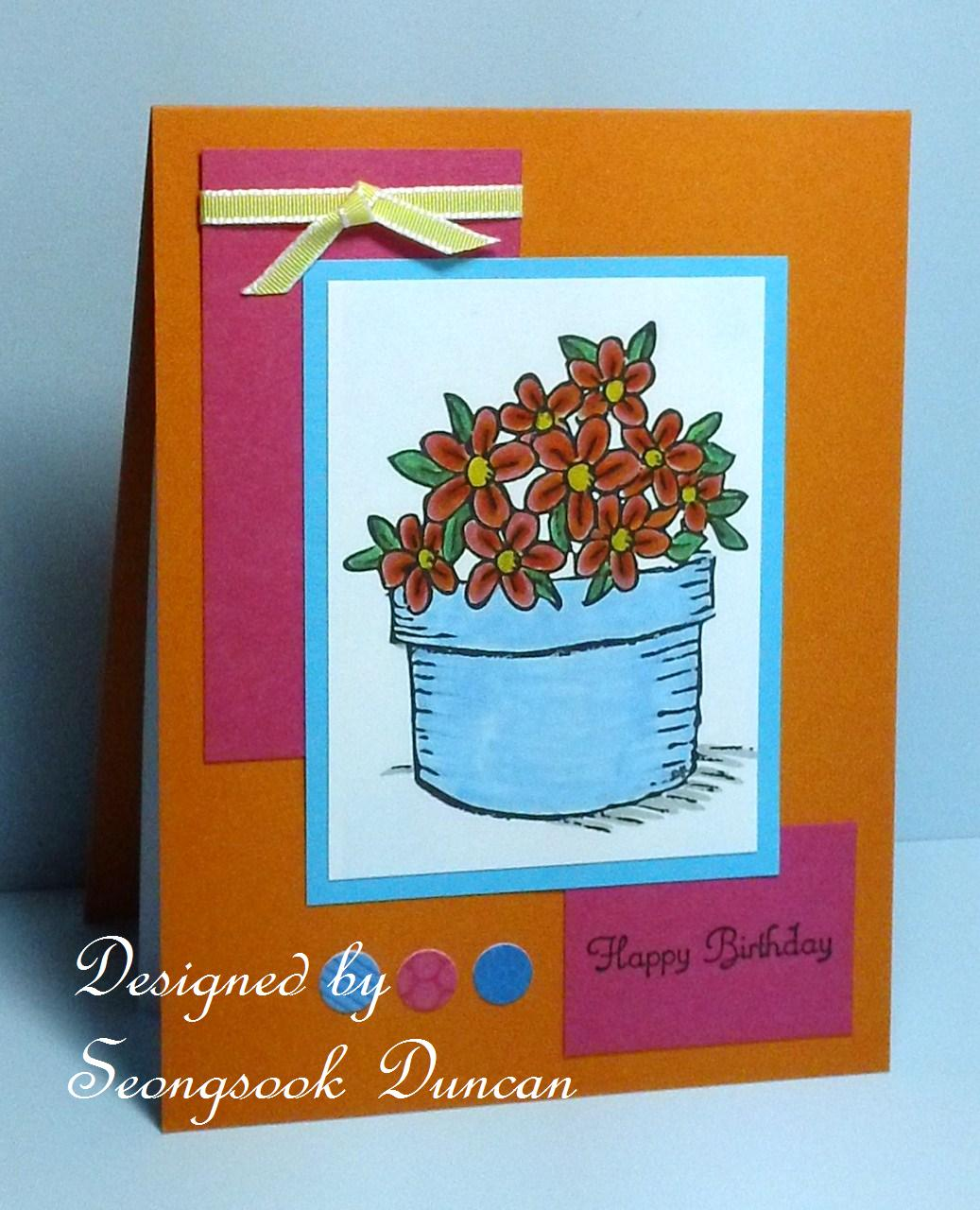 create with seongsook card maker march birthday cards