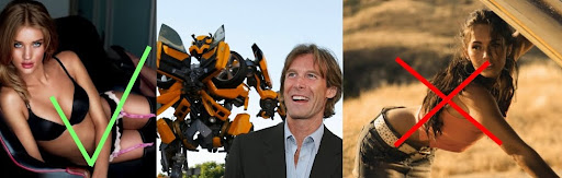 who is the new transformers 3 girl. hair And the new Transformers