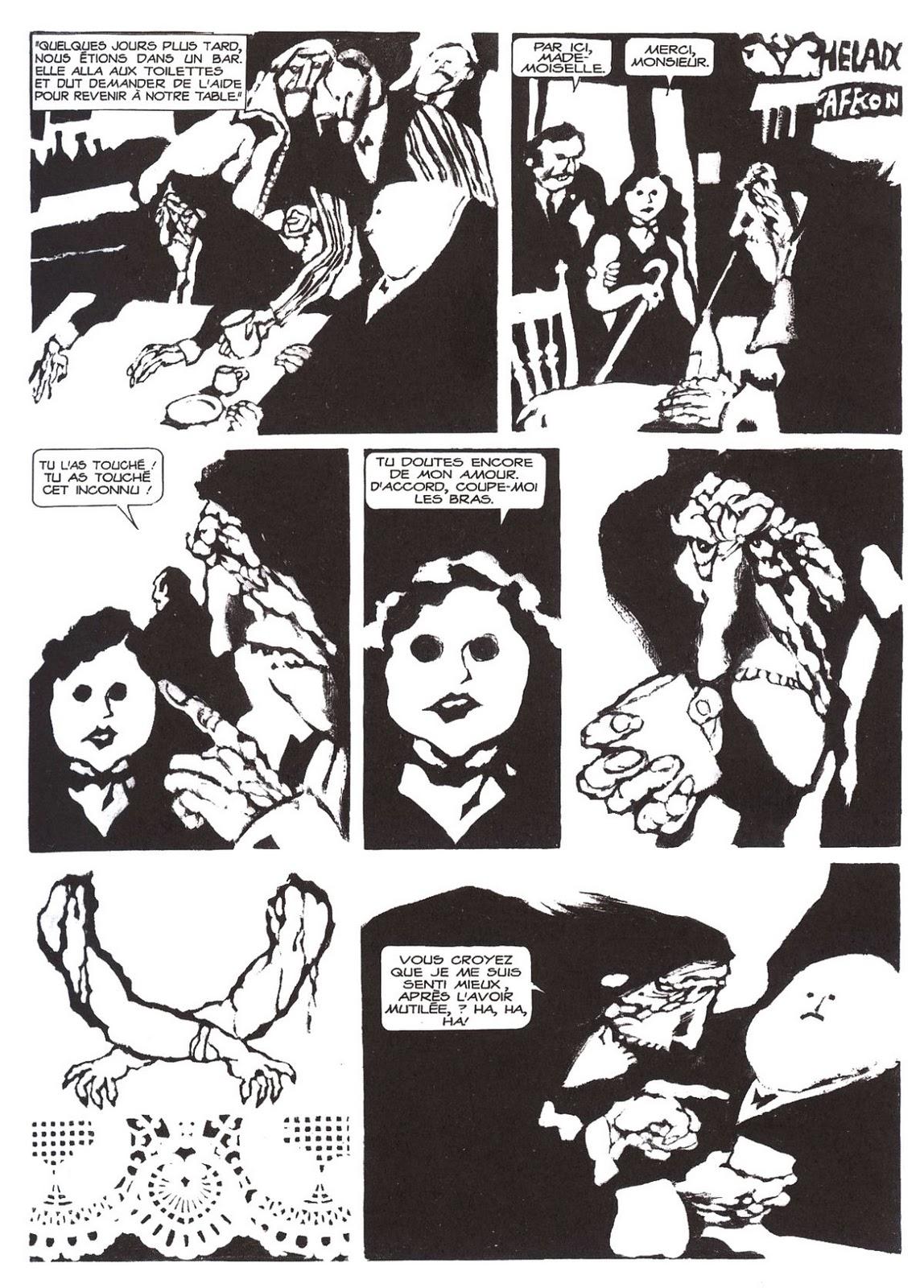 Solitary Dog Sculptor I  Drawing - Dibujo  Alberto Breccia - Comics ... 2dbef9baf56