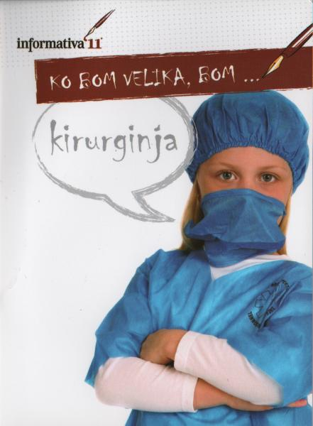 young girl dressed as surgeon