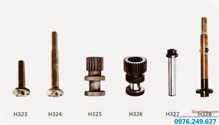 Báo giá phụ tùng máy ngành in giá rẻ H323-328