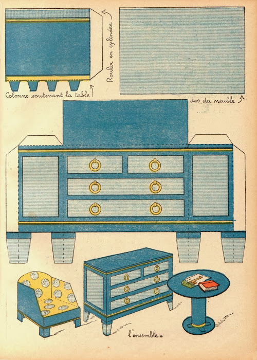 Muebles De Baño Toto:muebles clásicos para nuestras casitas de muñecas que fueron