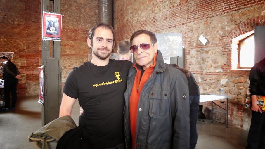 Con Alfonso Azpiri