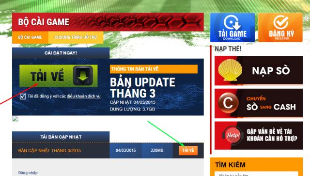 tải bản mới nhất FIFA Online 3