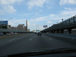 Driving on Ben Franklin bridge
