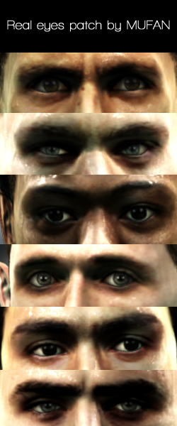Olhos mais realistas - PES 2013