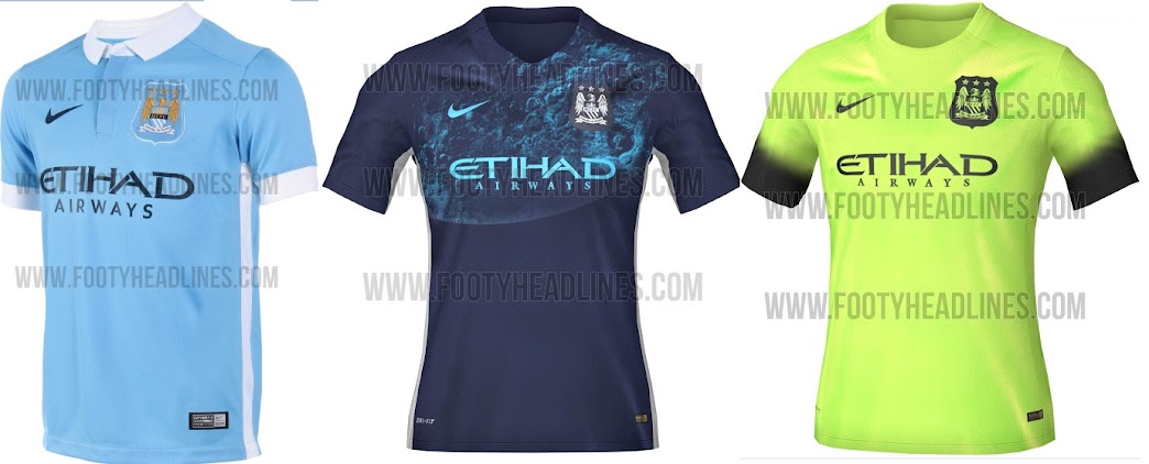 premium selection 4ae2c d8017 World : Manchester City Home & Away Kits (Leaked)