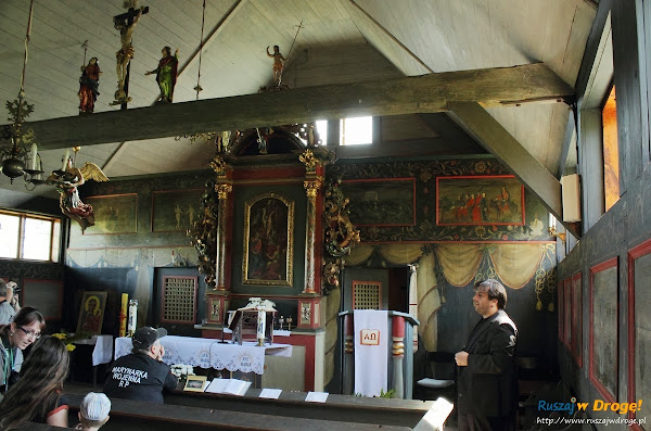 drewniany kościół w Palczewie