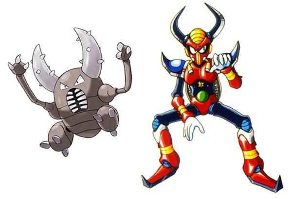 """Sự giống nhau """"kỳ lạ"""" giữa Pokémon và Mega Man X 12"""