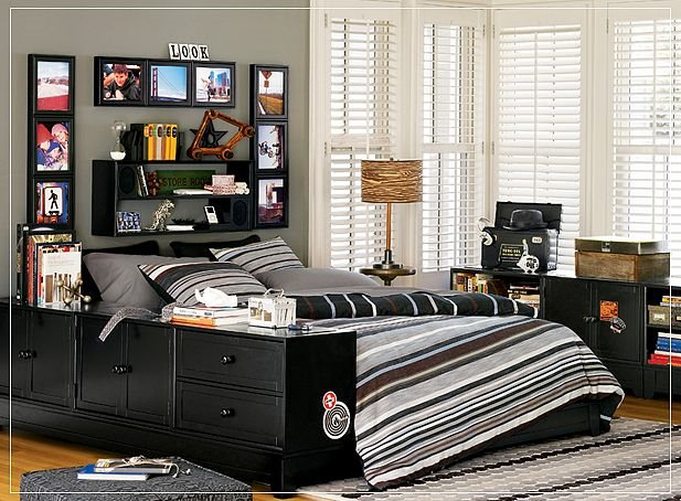 Home Christmas Decoration: Teen bedroom designs for boys !!