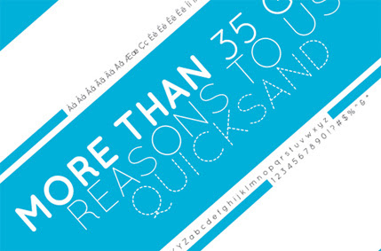 25+ Ultimate Collection of High Quality Free Fonts For Designers- Quicksand