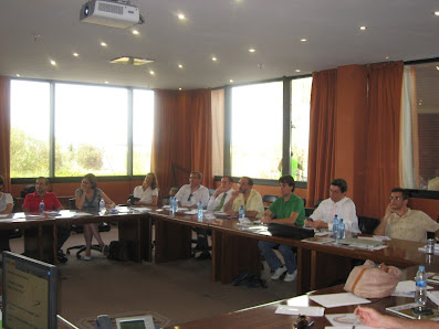 Asistentes al taller de design thinking - Junta Directiva de PMI Madrid