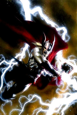 Thor painting by Dell'Otto