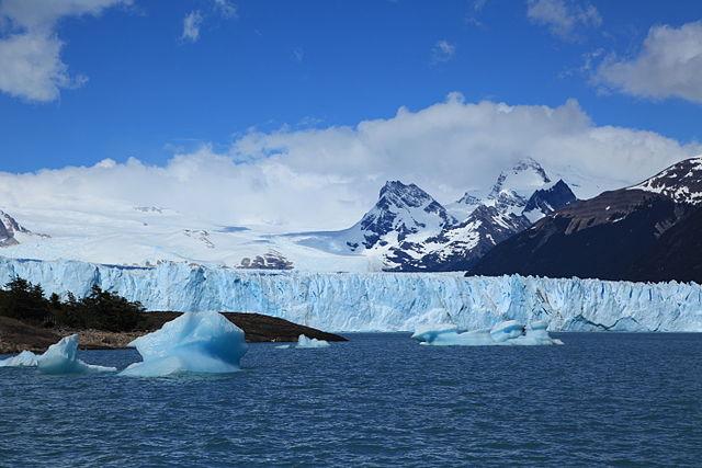 Lago de los Témpanos del Perito Moreno