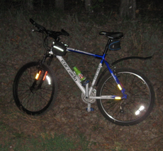 езда на велосипеде ночью