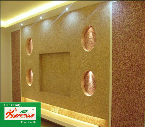YISENNI Artistic Coating is a luxury wall coating