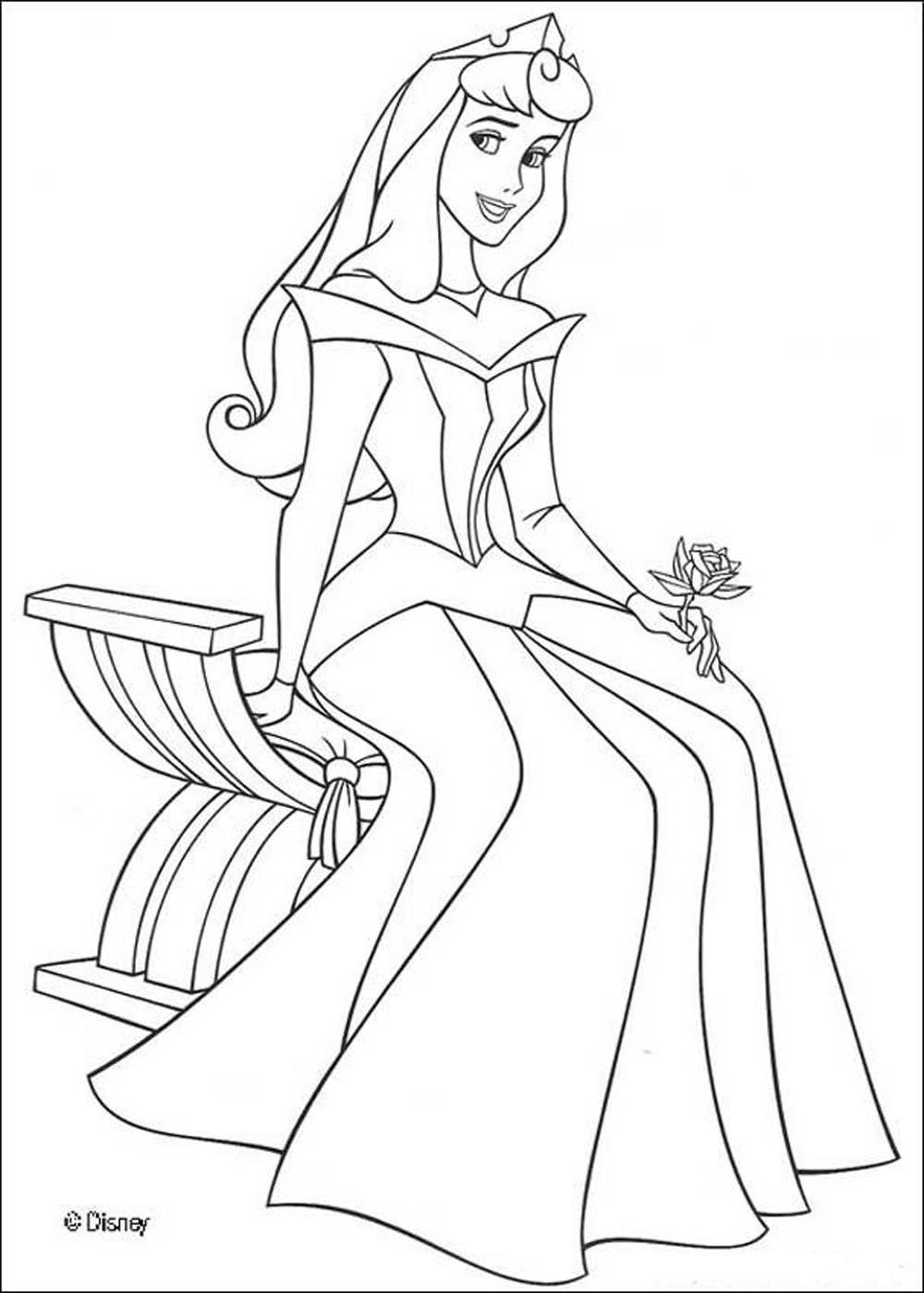 Athalia princess princess coloring Princess Aurora