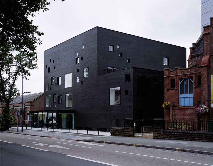 New Art Exchange in Nottingham / England design by Hawkins\Brown
