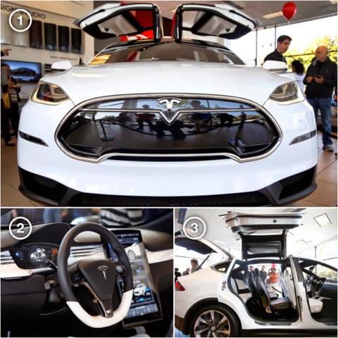 Picconn video tesla motors show off model x suv at new for Tesla motors palo alto