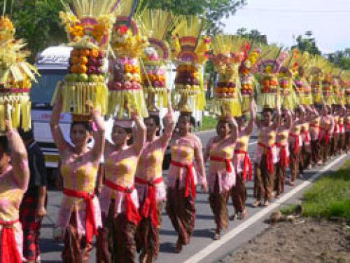 Pagerwesi Festival In Bali Today