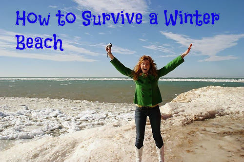 How to survive a winter beach!
