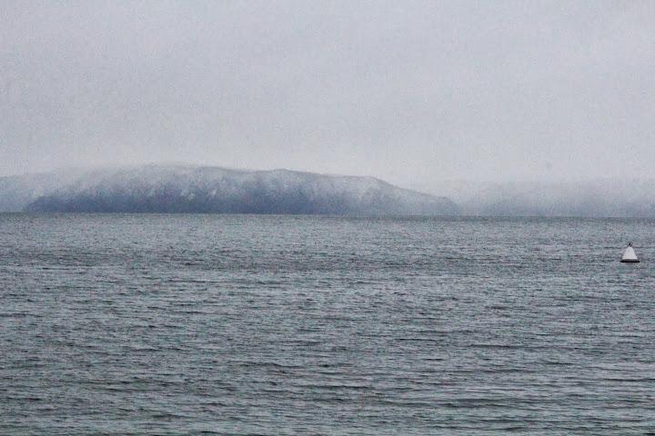 Lake Baikal mountains Listvyanka Russia