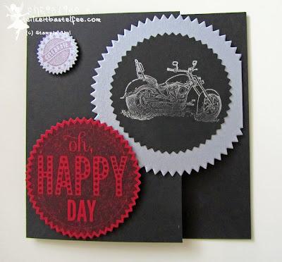 stampin up, starburst sayings, sprüchefeuerwerk, motorcycle, motorrad, male card, männerkarte, geburtstag, birthday