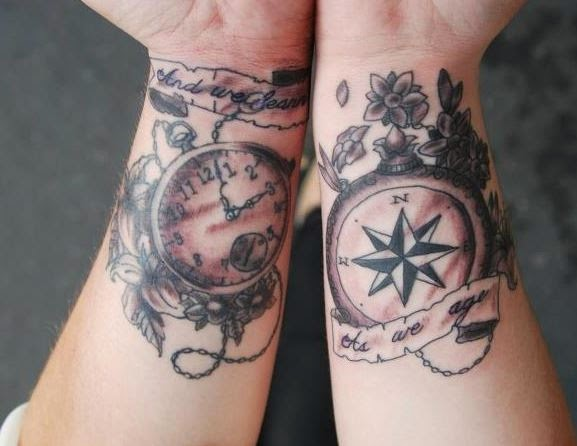 50 Best Compass Tattoos Designs and Ideas (2018) - DesignATattoo