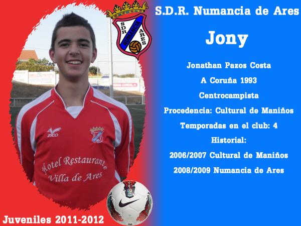 ADR Numancia de Ares. Xuvenís 2011-2012. JONY.