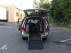 VAN WHEELCHAIR HANDICAP CHRYSLER TOWN LIMITED  POWER BRAUN REAR RAMP LEATHER SEA