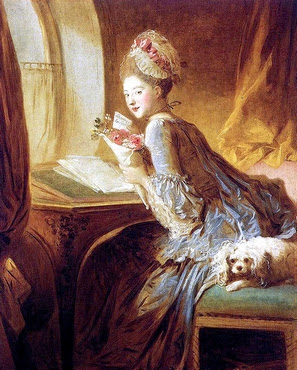 The love letter - Jean Honoré Fragonard