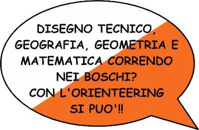 disegno tecnico, geografia, geometria, matematica correndo nei boschi?  Con l'orienteering si può!!