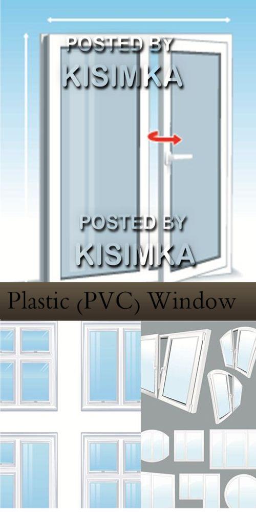 Stock: Plastic (PVC) Window