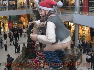 Caganer, CostablancaVIP, Дед Мороз в Барселоне, Каталония, Барселона
