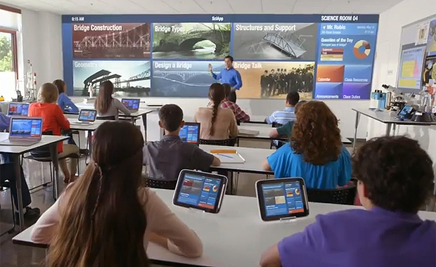 Intel Envisions the Classroom of the Future
