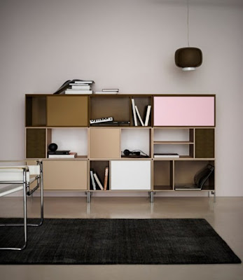 minimalist colorful furniture for home and office 2 554x639 Rak Dan Laci Modular Minimalis Yang Berwarna Warni