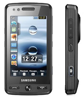 Samsung M8800  Pixon has touch screen